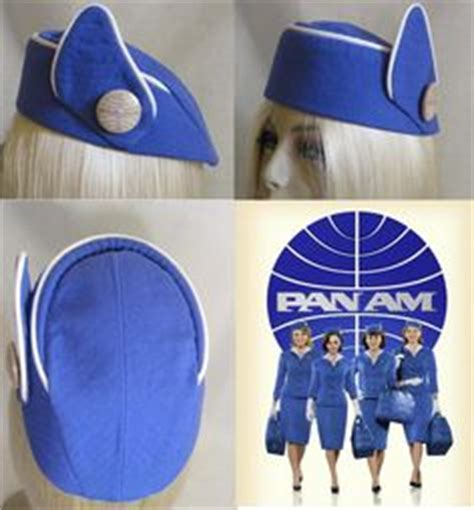 How To Make A Flight Attendant Hat Out Of Paper - 1000 images about stewardess vintage on pan