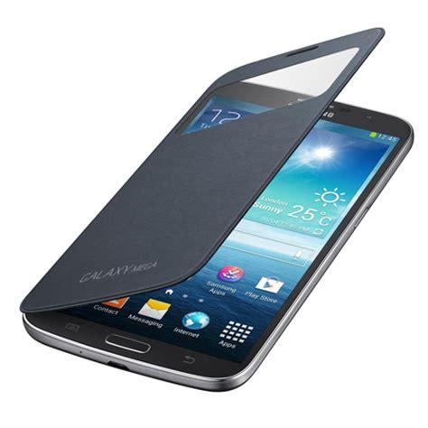 Flipcover Mega 63 Samsung Galaxy S View Flipcase Flip Cover official samsung galaxy mega 6 3 s view premium cover black