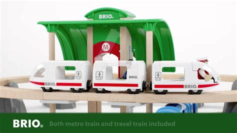 translate brio brio metro city train set 33514 english youtube