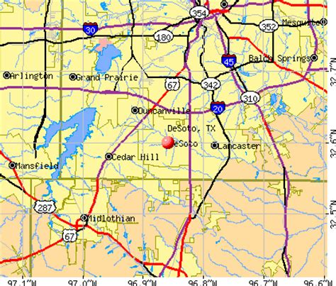 map of desoto texas map of desoto texas my