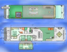 Boat House Floor Plans Diy Houseboat Plans Building Your Own Houseboat Vocujigibo