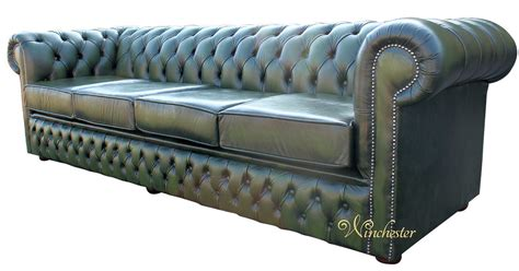 4 seater chesterfield corner sofa chesterfield winchester 4 seater settee antique green