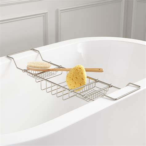 bathtub reading tray bathtub caddy with reading rack tray the decoras