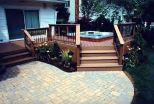 Deck To Patio Designs 30 Outstanding Backyard Patio Deck Ideas To Bring A Relaxing Feeling