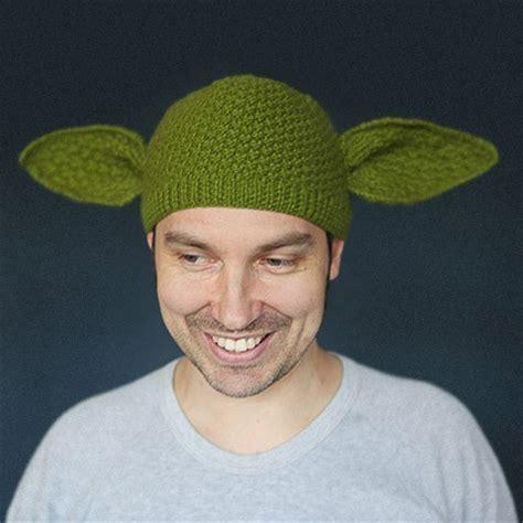 knit yoda hat pattern knitted yoda beanie churchmag