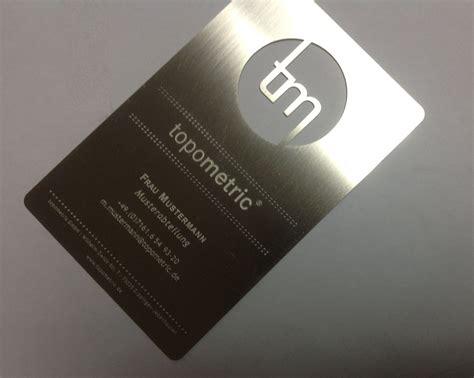 Visitenkarten Aus Metall au 223 ergew 246 hnliche visitenkarten edelstahl visitenkarten