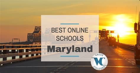 Best Maryland Mba Programs by Top 10 Best Colleges In Maryland Value Colleges