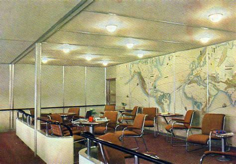 hindenburg airship color photos show 1930s luxury air