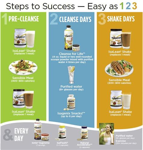 Holistic Detox Meal Plan by Get Your Isagenix On Changing Health Infusing Anti