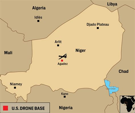 us air force bases in africa map u s military is building a 100 million drone base in africa