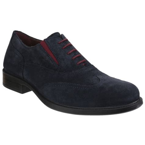 geox oxford shoes geox carnaby mens leather smart oxford shoes navy buy at