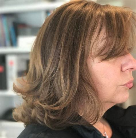 information on shoulder length hair for older women 20 amazing hairstyle haircut ideas for women above 50