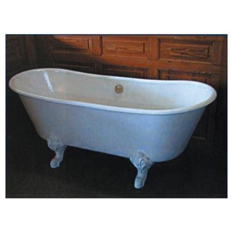baignoire sur pied princesse fonte 170 x 69 cm