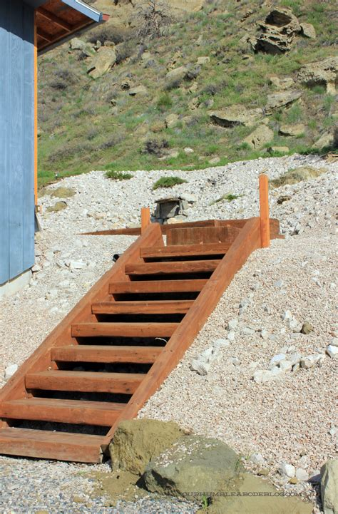 diy how to build wood steps up a hill plans free