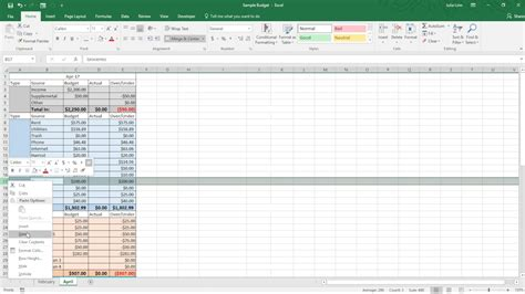 template zero based budget spreadsheet dave ramsey