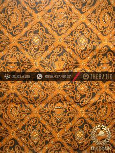 Kain Batik Pekalongan 169 kain batik jawa sogan motif sekarjagad coklat antik batik http thebatik co id kain batik