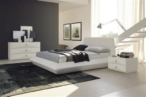 bed in italian diamante contemporary white leather platform bed made in italy