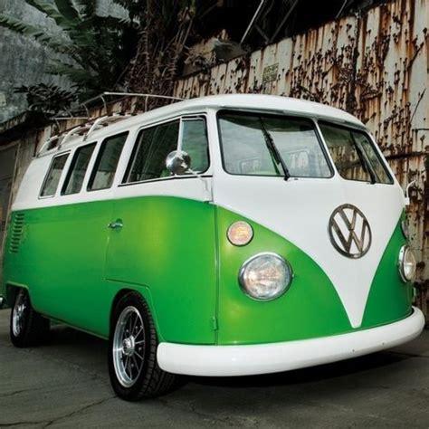 green volkswagen van volkswagen samba bus lime green classic vw s pinterest