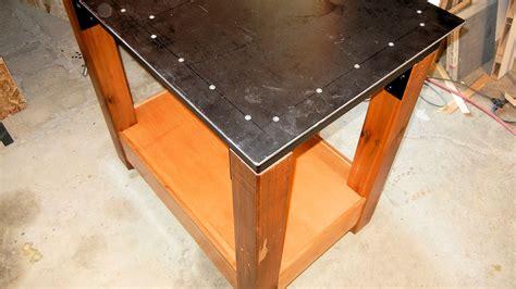 making  steel table ibuilditca