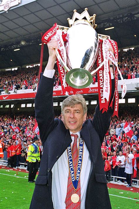 arsenal premier league titles arsene wenger s legendary status at arsenal is secure