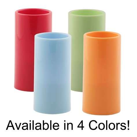Colored Candles Wholesale Pacific Accents Colored Flameless Resin Pillar