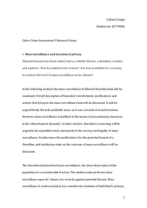 Final Copy Cyber Crime Research Essay