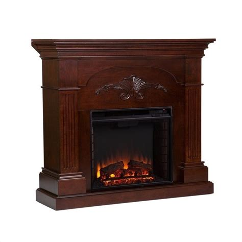 Southern Enterprises Electric Fireplace by Southern Enterprises Huntington Electric Fireplace In