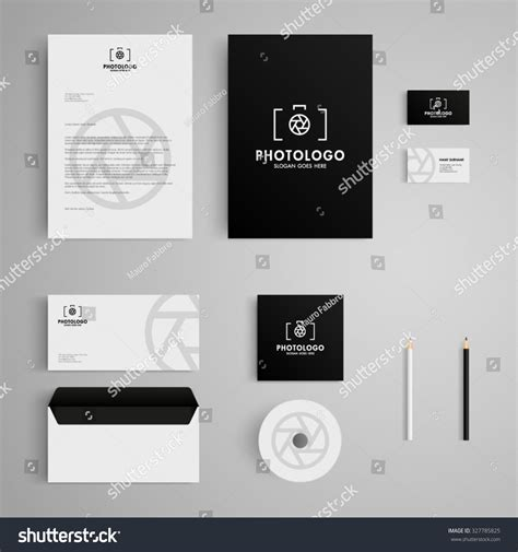 photography letterhead templates stationery template photography logocamera photo