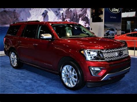 new 2018 ford expedition max platinum exterior and