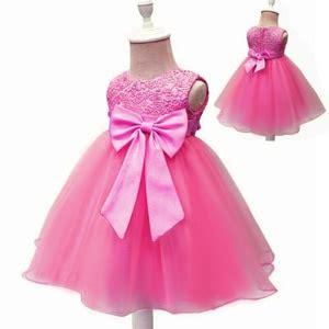 Dress Anak Sabrina Brukat 4y baju dress pendek anak perempuan bahan denim cantik modern
