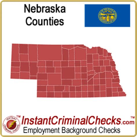 Nebraska Background Check Nebraska County Criminal Background Checks Ne Court