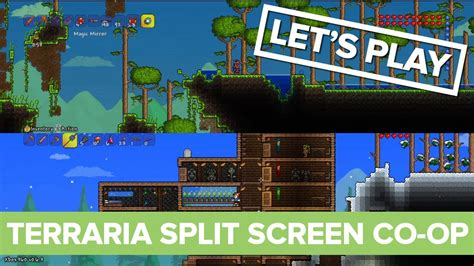 xbox one couch co op terraria split screen co op gameplay xbox 360 let s play