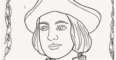 imagenes de octubre para dibujar pinto dibujos dibujos de cristobal colon para colorear