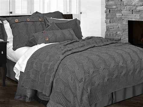 sinclair charcoal grey by alamode home beddingsuperstore