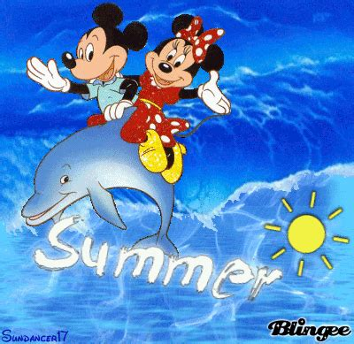 Minnie Summer summer mickey and minnie picture 114073971 blingee