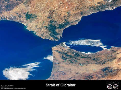strait of gibraltar map strait of gibraltar flickr photo