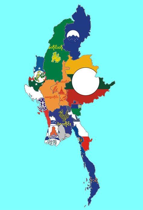 subdivisional flag maps  national flag maps