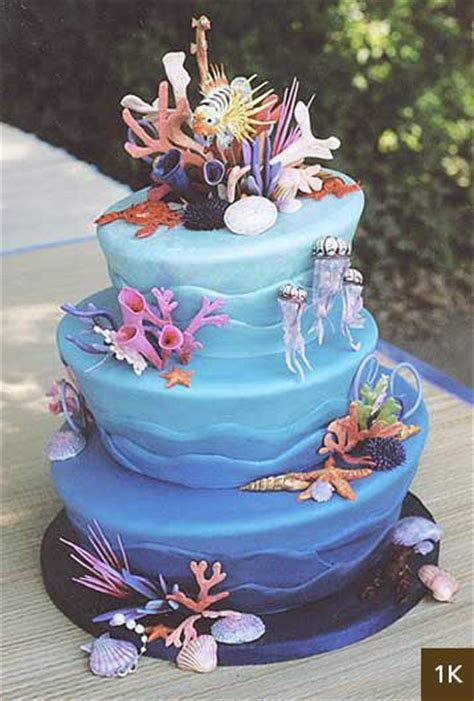 Tropical Themed Party Decorations - best 25 sea cakes ideas on pinterest mermaid cakes cakes and birthday cakes