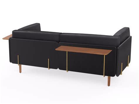 sofa shelf wooden wall shelf utility sofa accessories by stellar works
