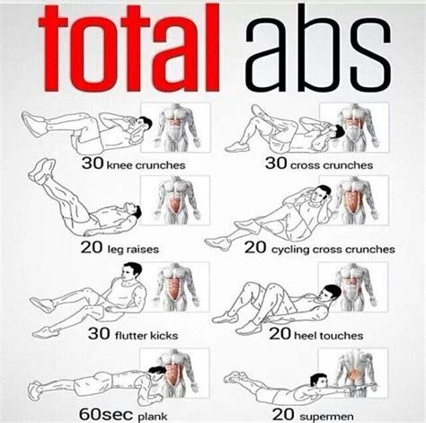 1000 ideas about at home abs on workouts for