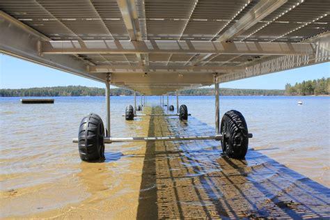 floating boat dock wheels roller dock wheels boat docks