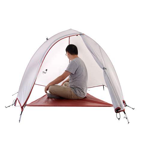 Tenda Naturhike jual tenda naturehike cloud up 1 silnylon 20d abu abu pindon outdoor