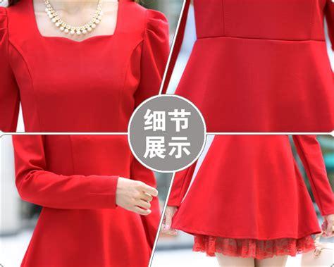 Dress Impor 1132 Tosca mini dress natal 2016 2017 fashion trend fashion fancy