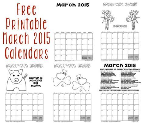 printable calendar 2015 christmas printable march 2015 calendars holiday favorites