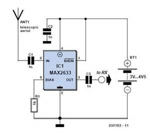 antenna amplifiers circuits and projects