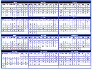 Calendario Mayo 2007 Proyecto Mecanica De Fluidos Mayo 2007