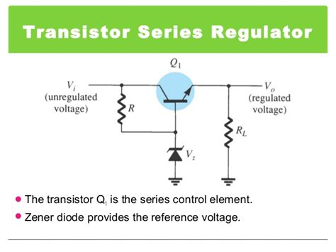 transistor zener transistor zener regulator 28 images zener controlled transistor voltage regulators circuit