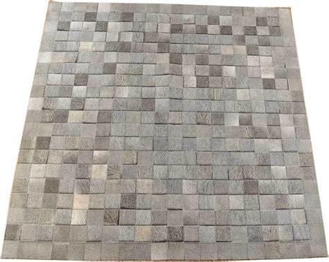 teppich altrosa grau kuhfell teppich grau natur 200 x 200 cm kuhfelle