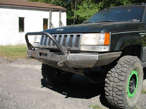 98 Jeep Bumper Elite Jeep Grand Zj Modular Plain Front Winch