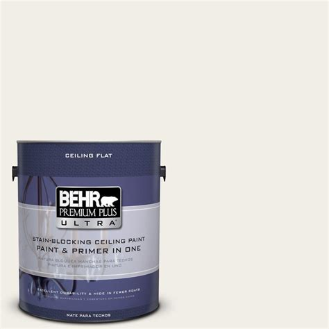 Behr Premium Plus Ultra 1 Gal No Ul200 12 Ceiling Tinted
